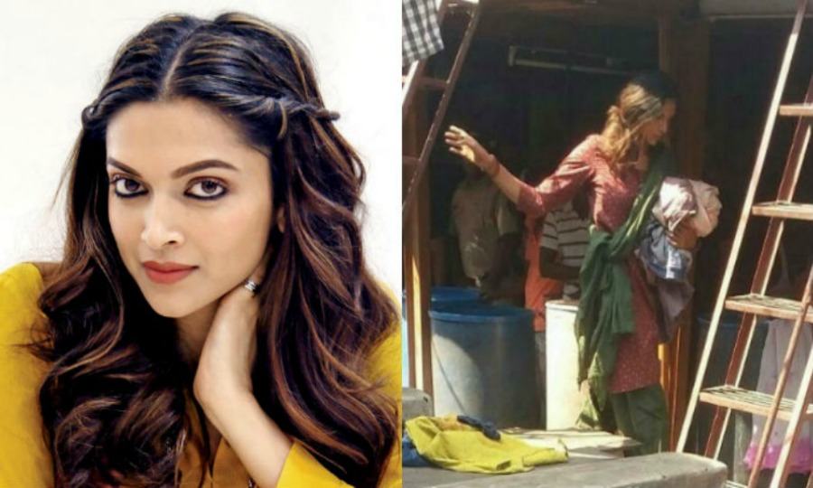 Deepika goes unrecognizable on the sets of her new movie
